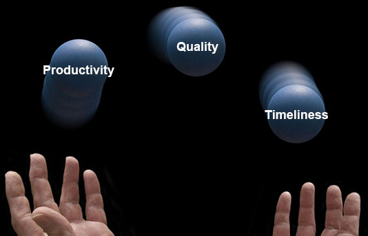 Productivity, Quality, and Timeliness. Our PEP Labor Managment Program Can Help!